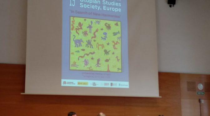 19th International Conference of the Utopian Studies Society (Tarragona 2018): informe final